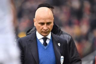 """Brescia, l'addio di Corini ai calciatori: """"Avrei voluto combattere ancora con voi"""""""