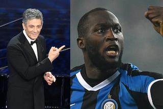 """Fiorello fa mea culpa: """"Su Lukaku mi sbagliavo, sta facendo cose eccezionali con l'Inter"""""""