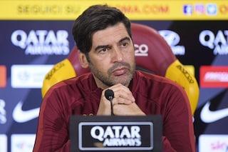 """Roma, Paulo Fonseca: """"La pressione è un alibi, c'è una negatività che non capisco''"""