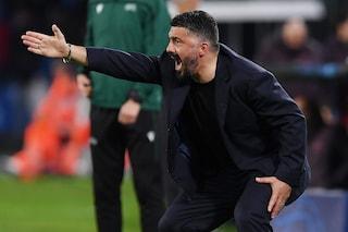 """Gattuso 'ringhia' sul Barcellona: """"Ci hanno fatto il solletico"""""""