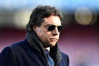 "Napoli, parla Giuntoli: ""Giua ha sbagliato, era rigore su Milik e doveva rivederlo al VAR"""
