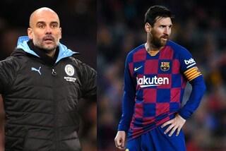 """Guardiola: """"Messi? Spero chiuda la sua carriera al Barcellona"""""""