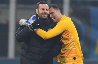 L'infortunio di Handanovic preoccupa l'Inter: quanto tempo può restare fuori il portiere