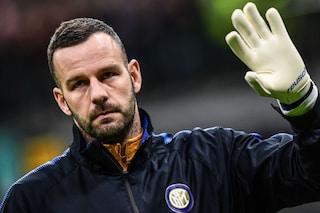 L'Inter attende Handanovic, quando rientra? È quasi guarito, avverte un po' di dolore