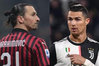 Ibrahimovic ha vinto più scudetti di CR7. E conta anche quelli sul campo di Calciopoli