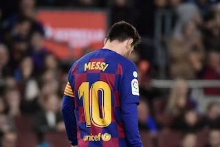 Barcellona in ansia per Messi: sta giocando con un problema alla gamba sinistra
