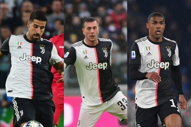 Juventus, le condizioni degli infortunati Bernardeschi, Douglas Costa e Khedira