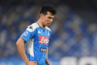 Hirving Lozano ancora spettatore. Il messicano con Gattuso ha giocato 47 minuti in Serie A