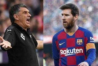 """L'allenatore dell'Eibar Mendilibar attacca Leo Messi: """"Lui è un bastardo, in campo si riposa"""""""