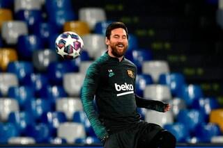 In Champions Messi non ha mai fatto gol a 2 club italiani. Riuscirà il Napoli a fermarlo?