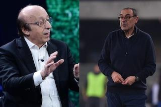 """Moggi attacca Sarri: """"La Juve non dovrebbe farlo parlare dopo le partite"""""""