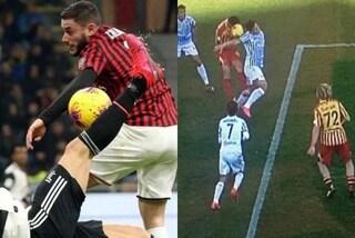 Fallo di mano in Lecce-Spal, per Valeri al Var non è rigore (come con la Juventus)