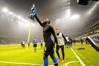 "Derby Inter-Milan, Lukaku si celebra sui social: ""C'è un nuovo re in città"""