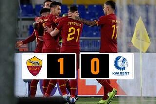 Europa League, Roma-Gent 1-0: decide un gol di Carles Perez