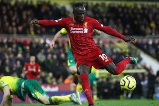 Liverpool, Manè fa 100: tutti i gol con i reds dell'attaccante senegalese