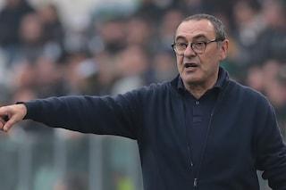 """Sarri: """"Alla Juve non ho stravolto la mia filosofia di gioco. Pjanic e Bernardeschi con la Spal"""""""