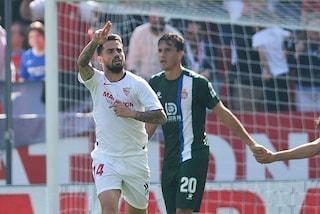 L'ex Milan Suso torna a brillare, gol e assist in Siviglia-Espanyol