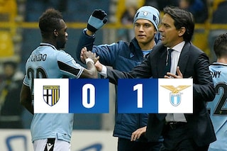 Parma-Lazio 0-1, decide un gol di Caicedo. Inzaghi è a -1 dalla Juve