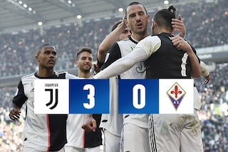 Juventus-Fiorentina Serie A 3-0: doppietta di Ronaldo e gol di de Ligt