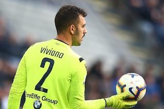 Viviano non firmerà con l'Inter. Handanovic sta meglio, Padelli titolare con la Lazio